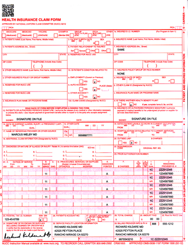 Cms 1500 forms court motion order forms personalized cms 1500 claim forms thecheapjerseys Images
